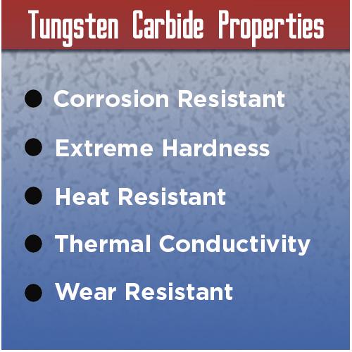 tungsten carbide benefits